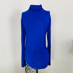 OLD NAVY Turtle Neck Long Sleeve royal blue M